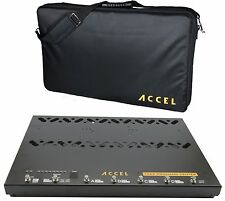 Accel FX22 Command Center Pedal board switcher and Tote