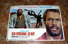 TERENCE HILL & BUD SPENCER DIO PERDONA IO NO! 1967 SPAGHETTI WESTERN ORIGINALE