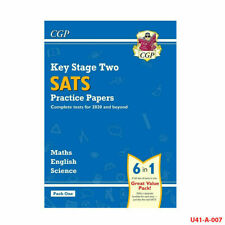 KS2 Complete SATS Practice Papers By CGP Books Paperback NEW