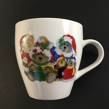 Teddy Bear Family Holiday/Santa Cup/Mug by Royal Norfolk