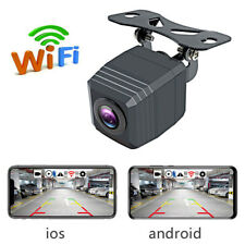 Wifi Car Rearview Backup Reverse Camera Wireless Night Vision for IOS Android