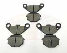 BRAKE PAD SET for Quadzilla SMC 300 XLC Stinger Front + Rear Set of 3
