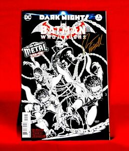 DARK NIGHTS: BATMAN WHO LAUGHS #1 VARIANT EDITION SIGNED BY ARTIST JASON FABOK