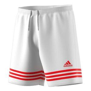 ADIDAS mens shorts entrada 14 white XL football training sports gym