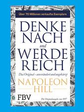 DENKE NACH UND WERDE REICH von Napoleon Hill.