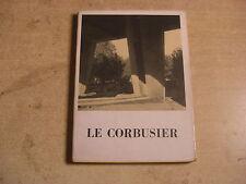 LE CORBUSIER MONOGRAFIA ELECTA 1951  ARCHITETTURA ARTE DESIGN