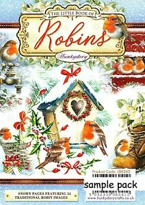 ROBINS Hunkydory Little Book Sample Pack - Christmas 24 sheets Glossy Colour