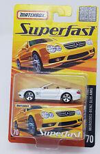 Matchbox New Superfast 2005 ROW #70 Mercedes Benz SL55 AMG   MOC