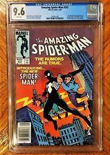 Amazing Spider-Man #252 CGC 9.6 NM+ First Black Symbiote Costume Venom Newsstand
