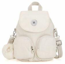 kipling Firefly Up Small Backpack Dazz White