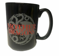 Game of Thrones Mug Mother of Dragons Large Black Red Ceramic Cup