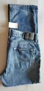EXPRESS Men Kingston Classic Straight 100% Cotton Denim Jean - 32x30 Vintag Blue