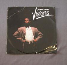 "Vinilo SG 7"" 45 rpm  ROBERT OWENS - VISIONS - Record"