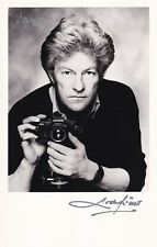 More details for the earl of lichfield autograph hand signed photograph patrick anson photographe