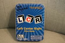 NEW LCR Left Center Right Dice Game Tin