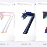 BTS MAP OF THE SOUL : 7 Album Ver 2 CD+Photobook+Card+Etc+Tracking Number