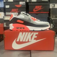 DS 2020 Nike Air Max 90 QS Radiant Red Infrared GS DC8334 100 Youth Sz 7