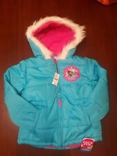 NEW with tags Girls size 4T Disney Frozen Puffer Coat /Jacket with Elsa Anna