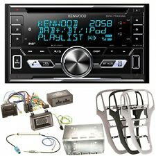 Kenwood DPX-7100DAB DAB+ USB MP3 iPhone CD Bluetooth Einbauset für Opel Astra J