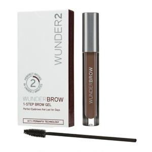 WUNDER2 WUNDERBROW 1-STEP BROW GEL  PERFECT EYEBROWS Black Brown New