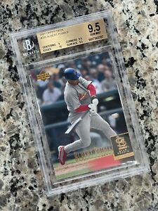 ALBERT PUJOLS 2001 Upper Deck RC ROOKIE #295 BGS 9.5 Gem Mint PMJS