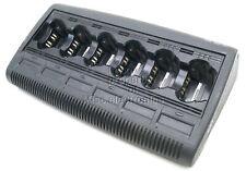 New Listingmotorola Impres Wpln4121br 6 Unit Gang Charger Xts1500 Xts2500 Xts3500 Xts5000