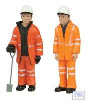 47-402 Scenecraft O Gauge Lineside workers B (pack of 2 figures)