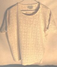 ***Women's White Blouse. Solid Color. Size XL. Pierre Cardin.***