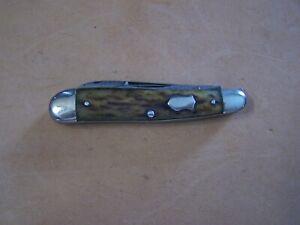 Vintage Remington Bone Handle Pocket Knife Model R673