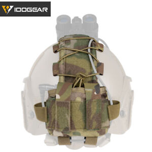 IDOGEAR Tactical Pouch MK2 Battery Case for Helmet 500D Nylon Hunting Combat