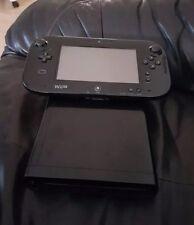 Nintendo Wii  32GB Schwarz, mit Splatoon u. Mario Kart 8, Restgarantie