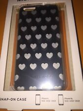 """MICHAEL Kors """"I Love Mom"""" iPhone 6/6S/7 Case In Silver Perfect Mothers Day Gift"""