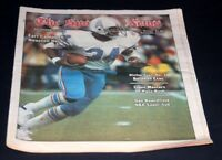 THE SPORTING NEWS COMPLETE NEWSPAPER DECEMBER 7 1978 EARL CAMPBELL /  OILERS