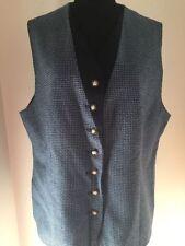 Plus Size 100% Wool Vintage Waistcoats for Women