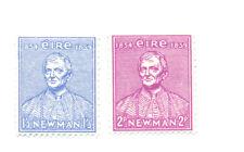 Irlanda-Cardinale Newman Set di 2 Gomma integra, non linguellato (160-1) - Università Irlandese fondatore