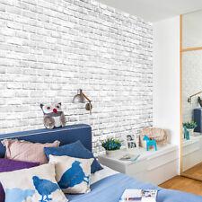 3D  Brick Stone Rustic Effect Self-adhesive Wall Sticker Wallpaper Home Decor VS