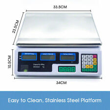 300KG/40kg Electronic Digital Scales Platform Kitchen Postal Shop Scale Weight