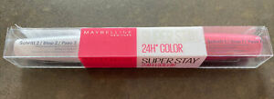 Brand New Sealed Maybelline SuperStay 24 Hour Lipstick 135 Perpetual Rose 🌸