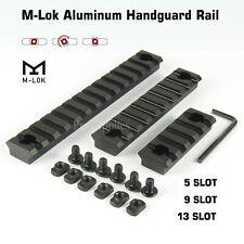 ALUMINUM 3pcs M-LOK Picatinny Weaver Rail Section Set 5,9,13 Slot