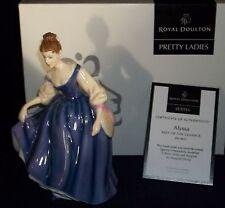 "Royal Doulton Pretty Ladies Figurine "" Alyssa "" NIB"