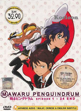 DVD Anime Mawaru Penguindrum Complete 1-24 End English Substitle Ship FREE