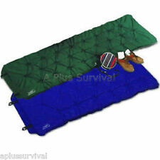 Self Inflating Camping Mattress Bed Pad - Blue Color