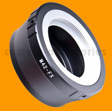 M42 lens to Fuji X-mount adapter converter ring XF XC Fujifilm X-Pro1 X-E1 X-M1