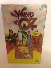 THE WIZARD OF OZ SPECIAL VIDEO PACK WITH PUZZLE CARD GAME - NEW / SEALED