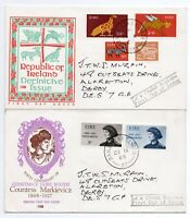 Ireland x 10 Different First Day Covers From 1960s/1970s See scans For Detail
