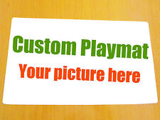 FREE MAT BAG Custom Made Playmat Card Games CCG YuGiOh MTG WOW Pokemon Vanguard