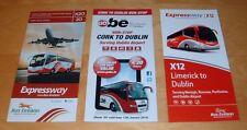 BUS EIREANN IRELAND EXPRESS BUS TIMETABLES  AIRPORT EXPRESS ROUTES X12, X20, 707