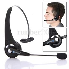 Wireless Bluetooth Stereo Noise Canceling Car Driver Headset Headphone with Mic