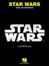 John Williams Star Wars Película Songs tocar el piano acordeón squeezbox Libro de Música