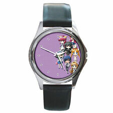 Anime They Are My Noble Masters leather wrist watch